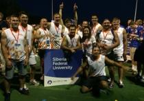 Регбисты СФУ стали призёрами Европейских студенческих игр