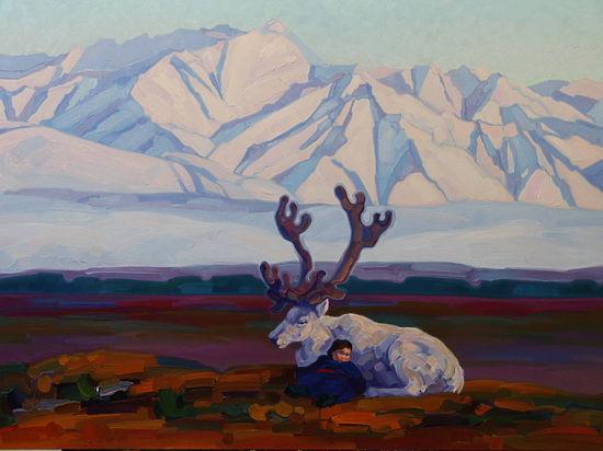 Год живописи: Анна Осипова и купленный «Сон»