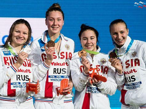 Русские пловцы выиграли комбинированную эстафету 4x100 наЧМ вКанаде