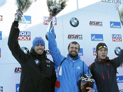 Третьяков одержал победу этап Кубка мира поскелетону вЛейк-Плэсиде