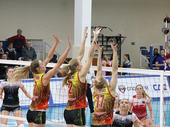 Волейболистки «Енисея» обыграли «Протон» вматче чемпионата Российской Федерации