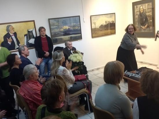 В Красноярске состоялся вернисаж художника Валерия Кудринского