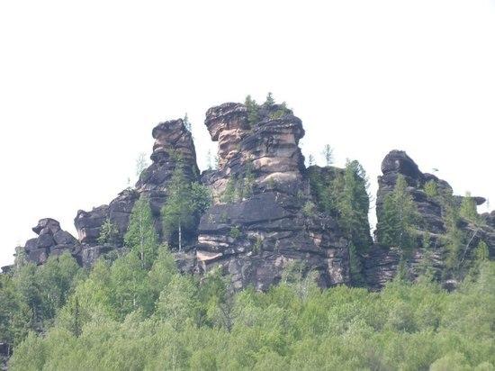 Затерянный мир каменных истуканов Красноярья