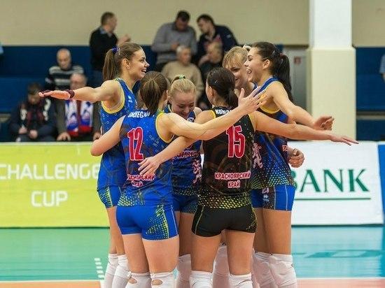 Красноярские волейболистки обыграли команду из Екатеринбурга