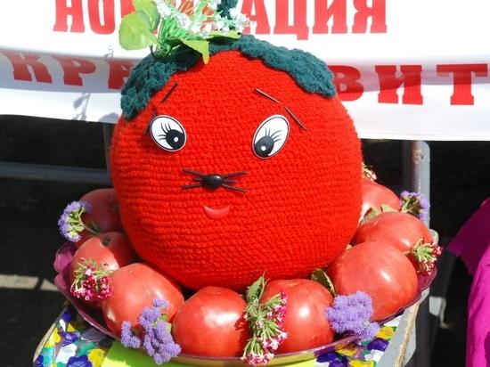 Гражданин Красноярского края вырастил помидор весом 1,7кг и одержал победу «Ниву»