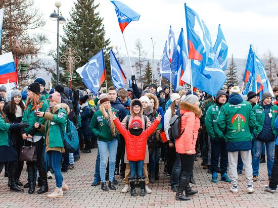 В Красноярске прошёл народный праздник