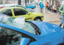 Если на машину упали сосулька и снег: юристы дали советы